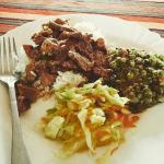 Traditional Kenyan Lunch