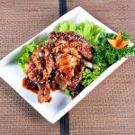 roasted chicken in special sichuan sauce