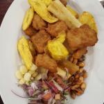 Chicharron design pescado..Very good... :-)