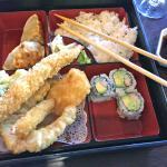 Chicken tempura Bento Box lunch special