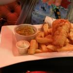 Fish and Chips at Kazbar Waterford