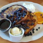 Wild Blueberry Brioche French Toast