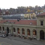 נוף לתחנת הרכבת כיוון מערב