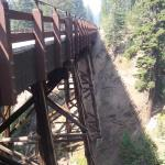 A bridge near Crater Lake