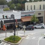 Square Perk is located on the corner of the historic Covington square.
