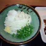 しょうゆの並と太刀魚の天ぷら