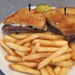 Patty Melt. No onions, thank you.  Delish