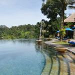 Vista da piscina central