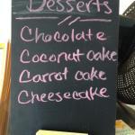 Nicole's dessert board.