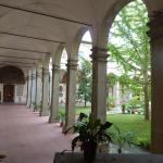The internal cloister.