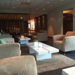Flott loungeområde.