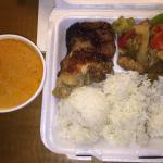 Thai Chicken Curry wit Thai Chicken