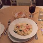 Food and the environment was very nice.  Nice small place for good pasta in Hong Kong.