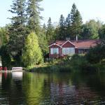 Le Serenita depuis le lac