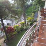 Vue depuis notre terrasse, chambre #5
