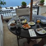 Stunning views with breakfast on the Terrace