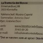 A real Italian restaurant......