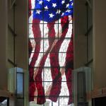 American Flag WIndow