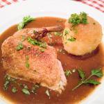 Ente und Kartoffelkloß