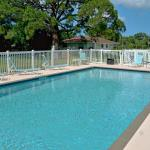 Large Heated Pool at Addy's Villas Resort Motel