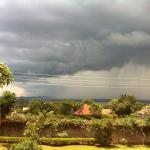 Afternoon rain over Lake Victoria