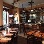 restaurant and bar area