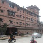 Entrée du Dwarika's à Katmandou