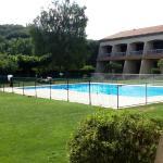 vue piscine chambre 117