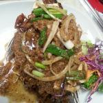 Deep Fried Tikapia on Garlic Pepper Style