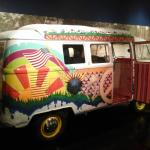hippie van from the 60's