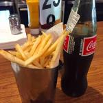 Mexican soda, regular fries