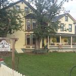 Charming B & B, it is like waking up in a long ago century. Home makes all the right noises. Won