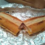 Turkey, bacon, cheddar sub at Pizza Pit, Ames