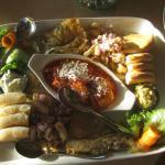 The sampler platter, a little bit of everything good.