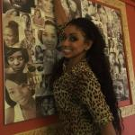 International superstar Mya dropped in and signed our Celebrating women wall