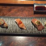 Omakase for 60 USD. Probably the best sushi in Maryland. Apart from New York, possibly the best