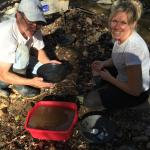 California Gold Panning Foto