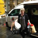 Shopping haul out at Little Collins Street
