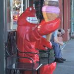 Do not succumb to this lobster's charm!