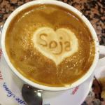 Cappuccino latte di soja