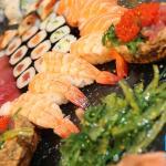 moriawase de sushi