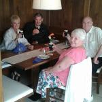 From South Africa having a Guinness at Raviolo Verdi Restaurant