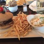 Burger au cerf rouges des Appalaches
