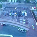 parcheggio scoperto