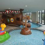 Kinderhallenbad mit Piratenschiff Aquagarden