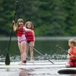 SUP is a great activity for kids