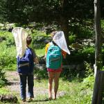 Free backpacks to help you explore.