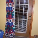 Door to deck/porch from room