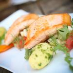 Fisch auf Gemüse