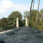 Hängebrücke Uber die Argen